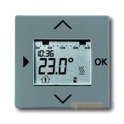 Regulator temperatury programowalny szary metalik Solo ABB