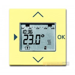 Regulator temperatury programowalny żółty Solo ABB