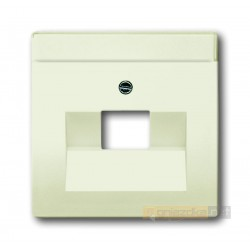 Gniazdo telefoniczne RJ11 biały chalet Axcent ABB