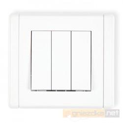 Łącznik potrójny biały Karlik Flexi