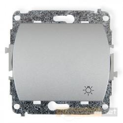 Łącznik zwierny światło srebrny Karlik Trend