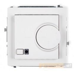 Regulator temperatury z czujnikiem powietrznym biały Karlik Deco