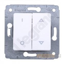 Łącznik roletowy z blokadą mechaniczną biały Legrand Cariva