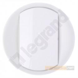 Łącznik sterowany przyciskiem 2000W Biały Legrand Celiane