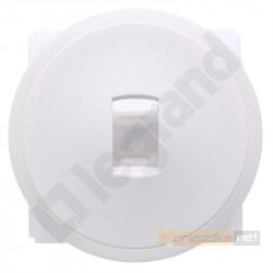 Łącznik uniwersalny / schodowy dźwigienkowy Biały Legrand Celiane
