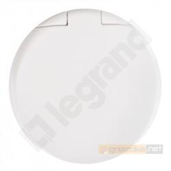 Gniazdo z uziemieniem 2P+Z Biały Legrand Celiane