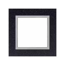 Ramka 1-krotna, kamień, kolor, granit/aluminium EFAPEL LOGUS 90
