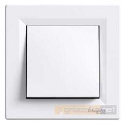 Przycisk zwierny biały Schneider Asfora