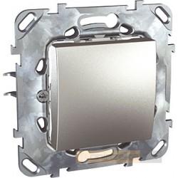 Łącznik jednobiegunowy aluminium Schneider Unica Top