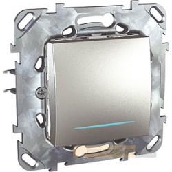 Łącznik schodowy aluminium Schneider Unica Top