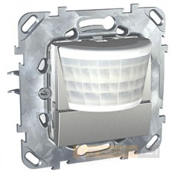 Czujnik ruchu aluminium Schneider Unica Top