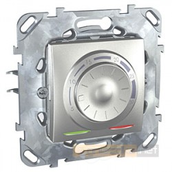 Regulator temperatury podłogowy aluminium Schneider Unica Top