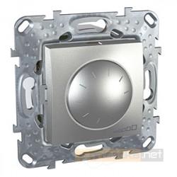 Ściemniacz obrotowy aluminium Schneider Unica Top