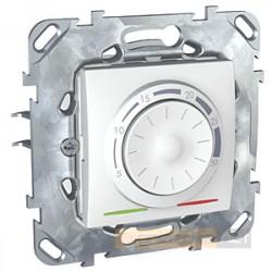 Regulator temperatury podłogowy biel polarna Schneider Unica Plus
