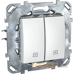 Przycisk żaluzjowy biel polarna Schneider Unica Plus