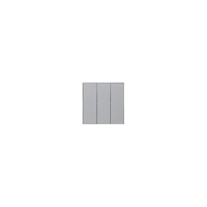 Łącznik 3-klawiszowy alu EFAPEL