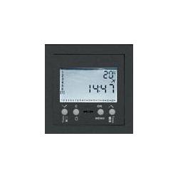 Termostat z programatorem czasowym grafit EFAPEL