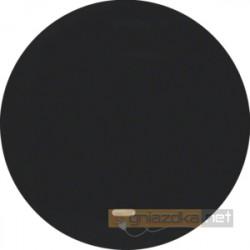 Łącznik pojedynczy krzyżowy z podświetleniem czarny połysk Berker R.1/R3