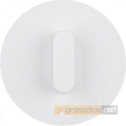 Łącznik obrotowy seryjny / świecznikowy biały połysk Berker R.classic