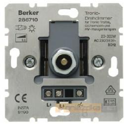 Ściemniacz obrotowy Tronic® 10-315W śnieżnobiały Berker K.1