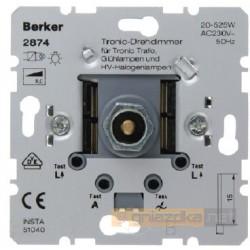 Ściemniacz obrotowy Tronic® z płynna regulacją śnieżnobiały Berker K.1