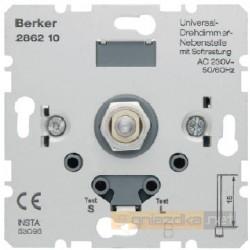 Rozszerzenie ściemniacza obrotowego z płynną regulacją śnieżnobiały Berker K.1