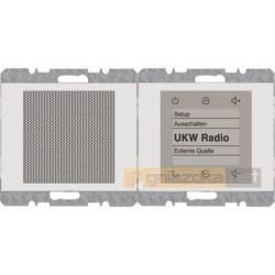 Radio Touch dotykowe biały połysk Berker K.1