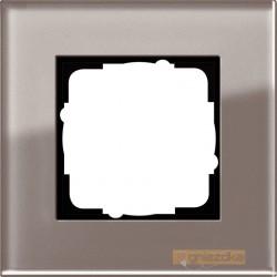 Ramka pojedyncza szkło umbra Gira Esprit
