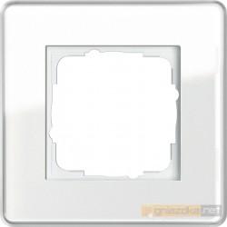 Ramka pojedyncza białe Gira Esprit