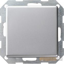Łącznik przyciskowy przełączalny aluminium Gira E22