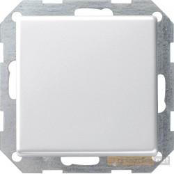 Łącznik przyciskowy krzyżowy biały Gira E22