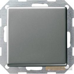 Łącznik przyciskowy krzyżowy podśw. naturalny stalowy Gira E22