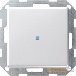 Łącznik przyciskowy kontrolny biały Gira E22