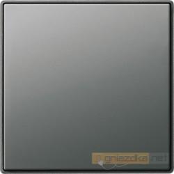 Ściemniacz niskonapięciowy (wł. przycisk.) aluminium Gira E22