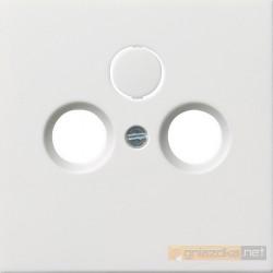 Gniazdo antenowe GEDU 10 białe Gira F100