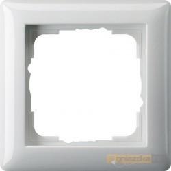 Ramka pojedyncza biały Gira Standard 55