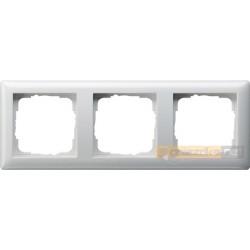 Ramka potrójna biały Gira Standard 55