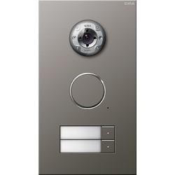Bramofon stalowy Wideo podwójne System Domofon naturalny stalowy naturalny stalowy Gira Wideodomofony