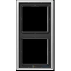 Ramka 2-krotna, aluminium JUNG LS