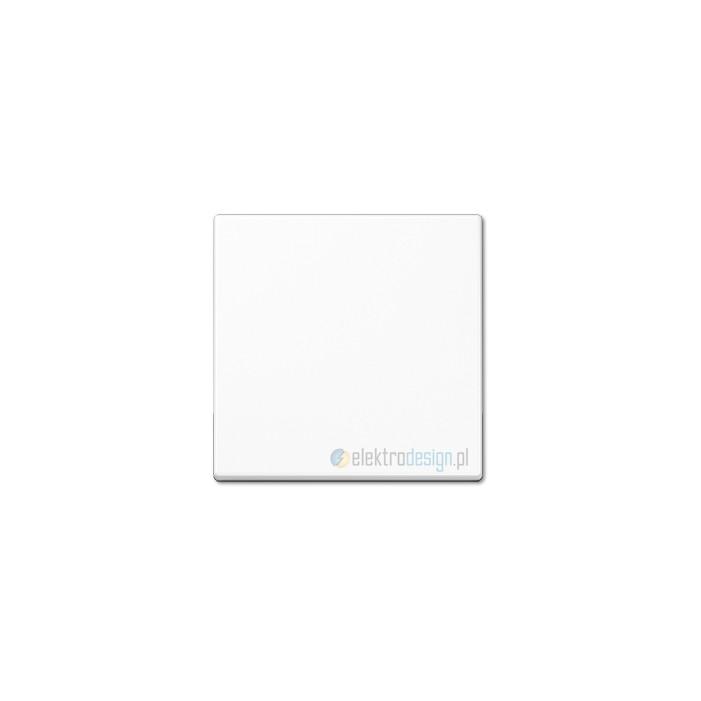Włącznik krzyżowy pojedynczy biały JUNG A-creation
