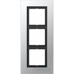 Ramka 3-krotna, aluminium JUNG LS PLUS