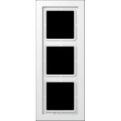 Ramka 3-krotna biała Jung LS Design
