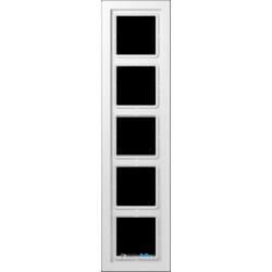 Ramka 5-krotna biała Jung LS Design