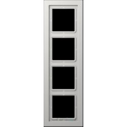 Ramka 4-krotna szara Jung LS Design