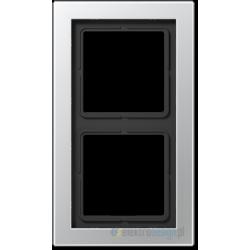 Ramka 2-krotna aluminium Jung LS Design