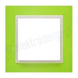 EFAPEL Animato zielony / lodowy. Ramka pojedyncza Logus 90