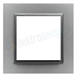 EFAPEL Animato aluminium / grafit. Ramka pojedyncza Logus 90