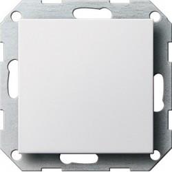 Zaślepka z płytką mocującą biały System 55 GIRA