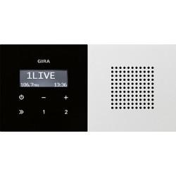 Radio pt. RDS Gira F100 biały